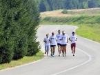 Pretrčali 227 kilometara do Srebrenice da bi se poklonili žrtvama