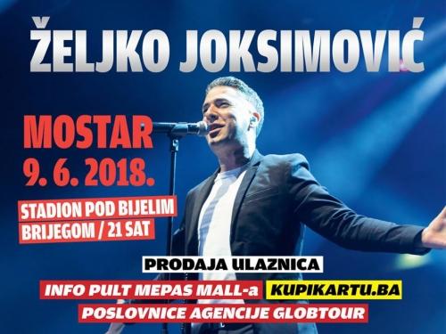 Veliko zanimanje za koncert Željka Joksimovića na stadionu u Mostaru