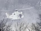 Spasilački helikopter srušio se nedaleko od hotela zatrpanog lavinom