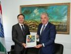 Susret predsjednika Hercega i veleposlanika Rumunjske u BiH