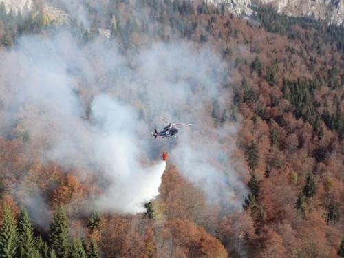 Ponovno se razbuktao požar na području Jablanice i Konjica