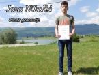 Jozo Nikolić učenik generacije u OŠ fra Jeronima Vladića Ripci