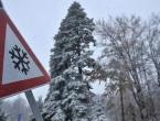 Sutra pretežno oblačno, snježne padavine u većem dijelu zemlje