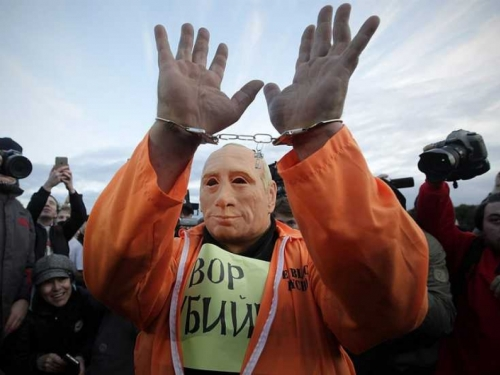 Širom Rusije antivladini prosvjedi i to na Putinov rođendan