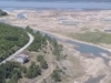 Dijelovi Buškog jezera pretvoreni u nekoliko lokvica, razina vode na biološkom minimumu