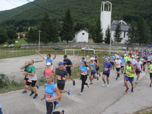 FOTO/VIDEO: Prvi 'Ramski polumaraton'
