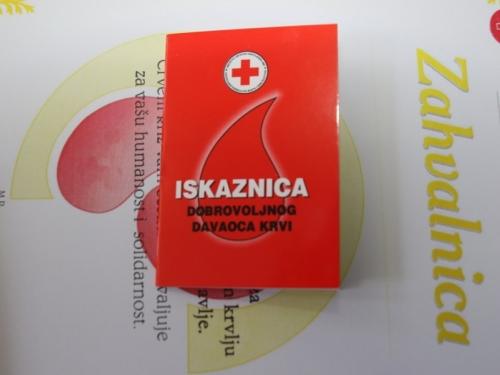 NAJAVA: Akcija dobrovoljnog darivanja krvi u Prozoru
