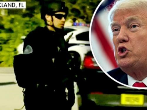 Trump: Policajac s Floride je kukavica