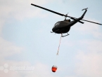 Helikopter za gašenje požara iz Mostara upućen u Jablanicu