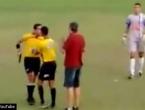 I toga ima: Brazilski nogometni sudac potegnuo pištolj za vrijeme utakmice