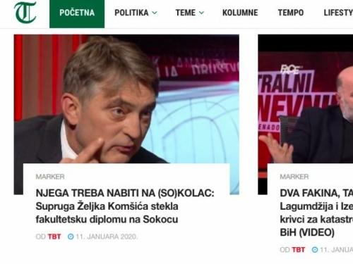 Ne ide ga s diplomama: Supruga Željka Komšića stekla fakultetsku diplomu na Sokocu