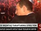 Slaven Bilić ispred stadiona vodi navijanje najžešćih fanova Bešiktaša