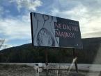 Potresni plakati o pobačaju osvanuli u Hercegovini