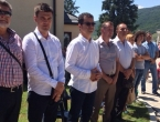 Visoko izaslanstvo HDZa 1990 na proslavi 150-te godišnjice župe Šujica