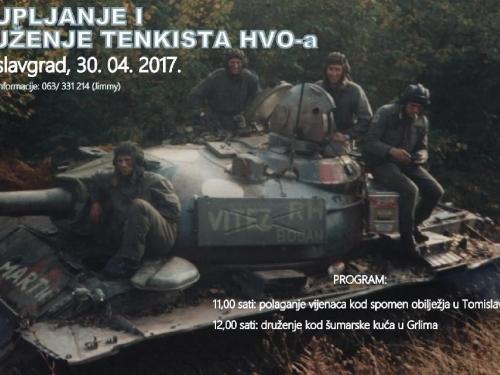 Najava: Okupljanje i druženje tenkista HVO-a