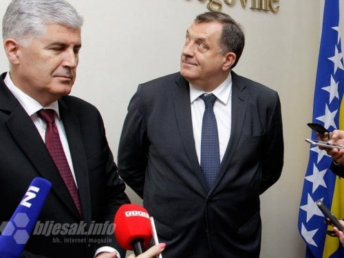 Dodik i Čović dogovorili formiranje koalicije