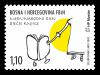 Prigodna marka Hrvatske pošte Mostar uz Međunarodni dan dječje knjige