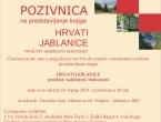 """Najava: Promocija knjige """"HRVATI JABLANICE prošlost, sadašnjost, budućnost"""""""