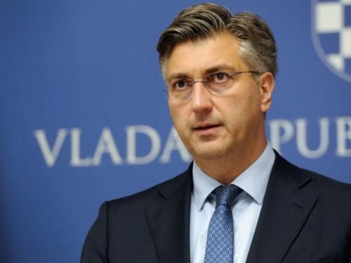 Plenković nakon sastanka s generalima: Vlada odbija zamolnice iz BiH
