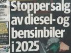 Norveška će zabraniti benzince i dizelaše