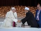 Papa Franjo i imam Univerziteta Al-Azhar potpisali povijesnu deklaraciju