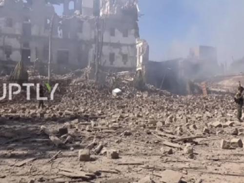 VIDEO: Saudijska koalicija uništila glavni grad Jemena
