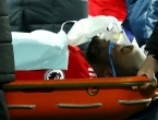 Lukaku nakon sudara nepomično ležao na travnjaku