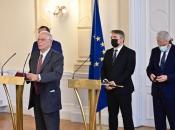 ''Gorilo'' na sastanku s EU: Komšić izašao jer mu je Dodik rekao da nije legitiman