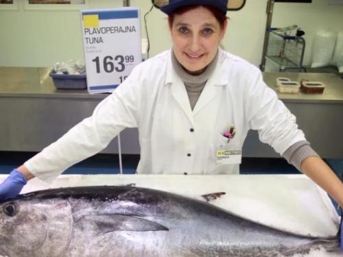 Made by Gotovina: Ovo je tuna od 40 kg iz generalova uzgoja