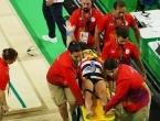 Stravičan lom noge francuskog gimnastičara