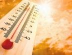 I danas ekstremno vruće