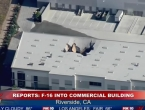 Avion F-16 pao na skladište, više ljudi ozlijeđeno
