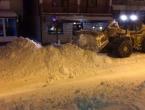 Čisti se snijeg na području Tomislavgrada, stanje se normalizira
