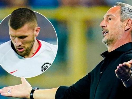 Trener Frankfurta žestoko reagirao na lošu igru Rebića!