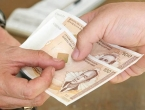 U FBiH prosječna neto plaća u listopadu 838 KM
