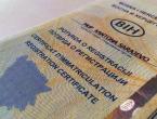 Registracija vozila u FBiH poskupljuje za 30 KM