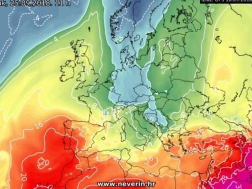 Vikend donosi nagli pad temperature zraka