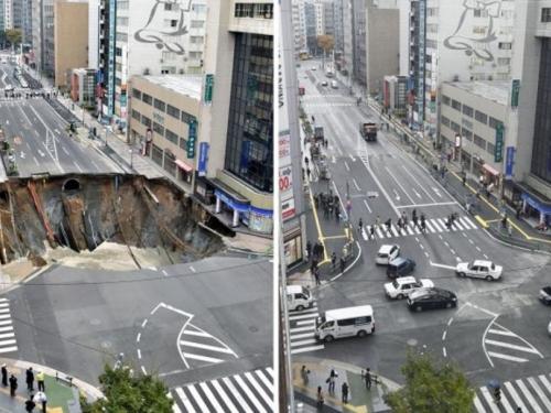 Japanci sanirali gigantsku rupu za svega nekoliko dana!