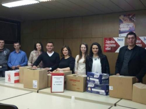 Završena humanitarna akcija - Uskrsna čestitka Mladeži HDZ-a BiH Rama