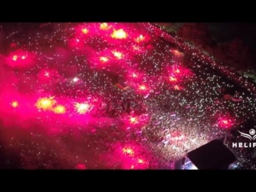 VIDEO: Pogledajte scene iz zraka s dočeka Zlatka Dalića u Livnu