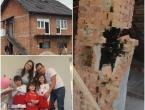 Potres oštetio kuću Ramcu u Petrinji: ''Noć smo od straha proveli u autu''
