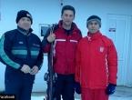 Božo Petrov skija na Kupresu