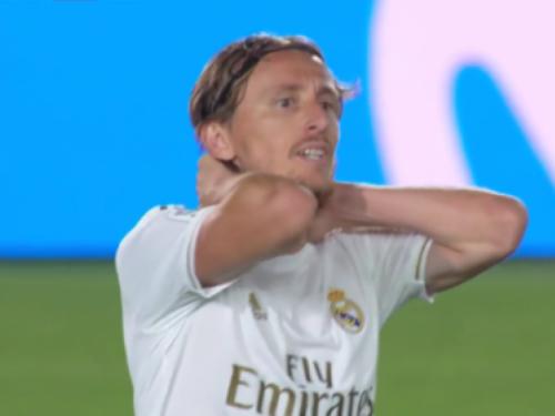 Fantastičan pogodak Luke Modrića u iznenađujućem porazu Reala u Madridu od Šahtara