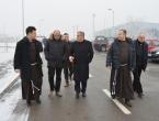 Svečani blagoslov završenih radova ispred samostana u Sesvetskoj Sopnici