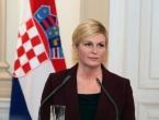 Hrvatska predsjednica zabrinuta situacijom u BiH