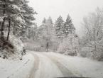 Vozači, oprez: Snijeg uzrokovao probleme u prometu