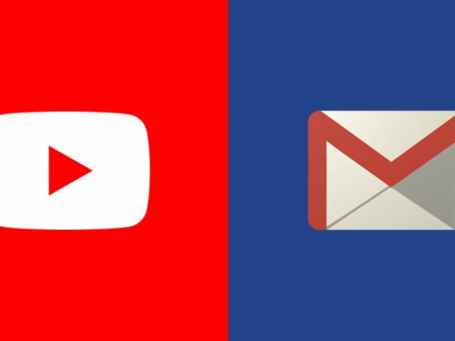Pali svi Googlovi servisi: Youtube, Gmail...