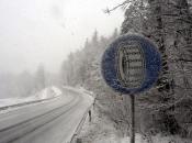 Početak tjedna donosi kišu, susnježicu i snijeg