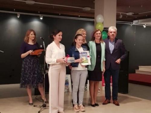 Lorena Šimunović osvojila drugo mjesto na 1. festivalu dječje knjige