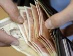 Prosječna neto plaća u FBiH u kolovozu 1.000 KM, a bruto plaća 1.548 KM